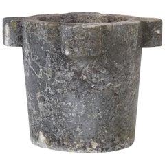 1880s Belgian Stone Mortar