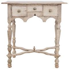 1880s Bleached Oak Table