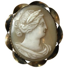 1880s Carved Cameo