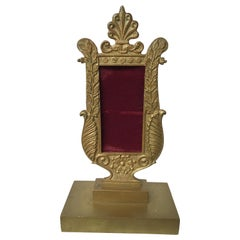 1880s French Empire Bronze Small Frame