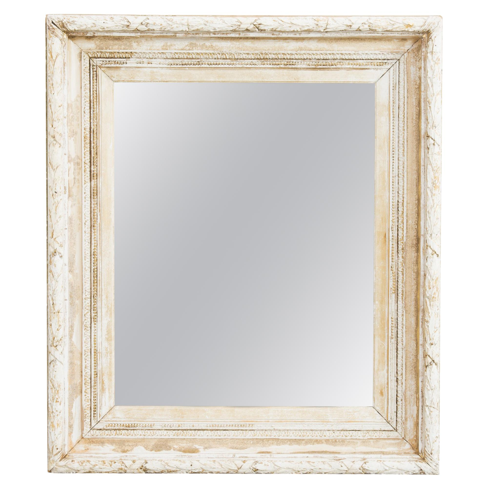 1880s French Giltwood Mirror Frame
