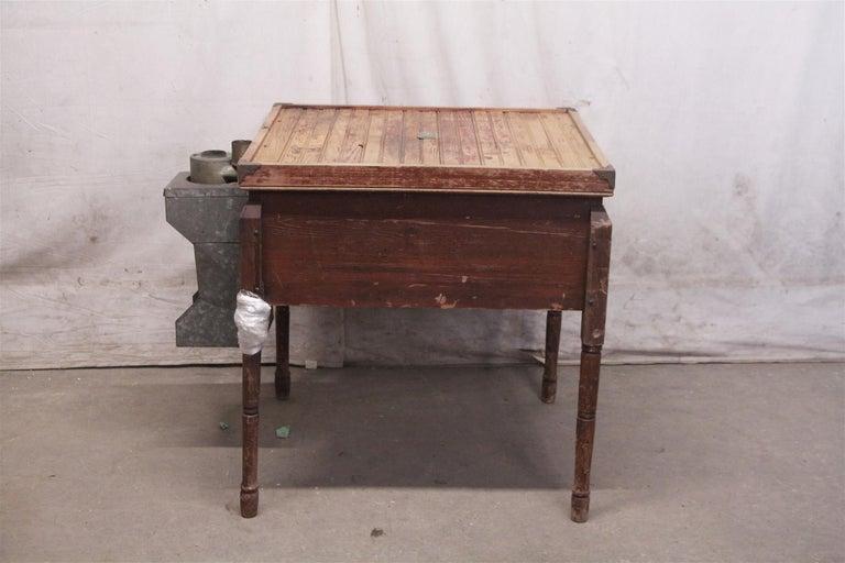 1880s Industrial Hibbard, Spencer, Bartlett & Co. Chicken Egg Incubator Table For Sale 6