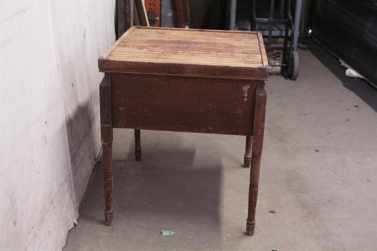 1880s Industrial Hibbard, Spencer, Bartlett & Co. Chicken Egg Incubator Table For Sale 3