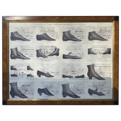 1880s Italian Shoe Advertisement