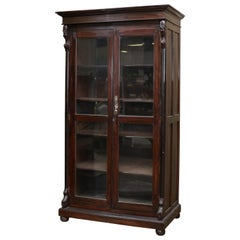1880s Mahogany Barrister Book Case from the Library of Calcutta High Court