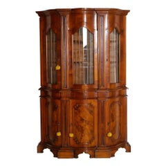 1880s Venetian Credenza Display Cabinet Baroque by Michele Bonciani Cascina