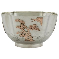 1884 American Sterling Silver Bowl by Gorham Manufacturing Company