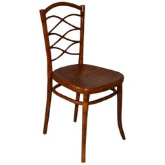 1885 Rare Bentwood Thonet Chair Model Nr. 62
