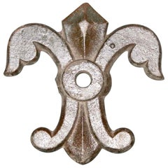 1890s Cast Iron Building Detail Hurricane Star from Citi College, Manhattan