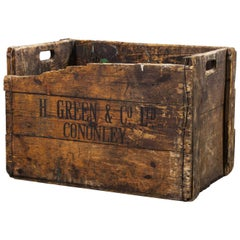 1890s Large Mill Decorative Pine Crate 'Crate 4'