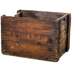 1890s Large Mill Decorative Pine Crate 'Crate 5'