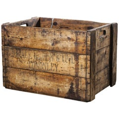 1890s Large Mill Decorative Pine Crate 'Crate 6'