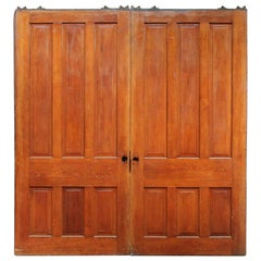 1890s Large Scale Antique Pocket Double Doors