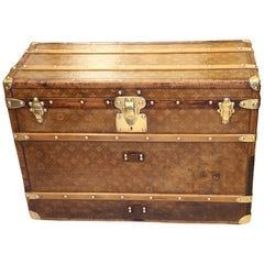 1890s Louis Vuitton Shoe Trunk, Louis Vuitton Trunk, Louis Vuitton Steamer Trunk
