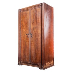 1890s Original Patented Fireproof Large Cabinet by Tanczos of Vienna