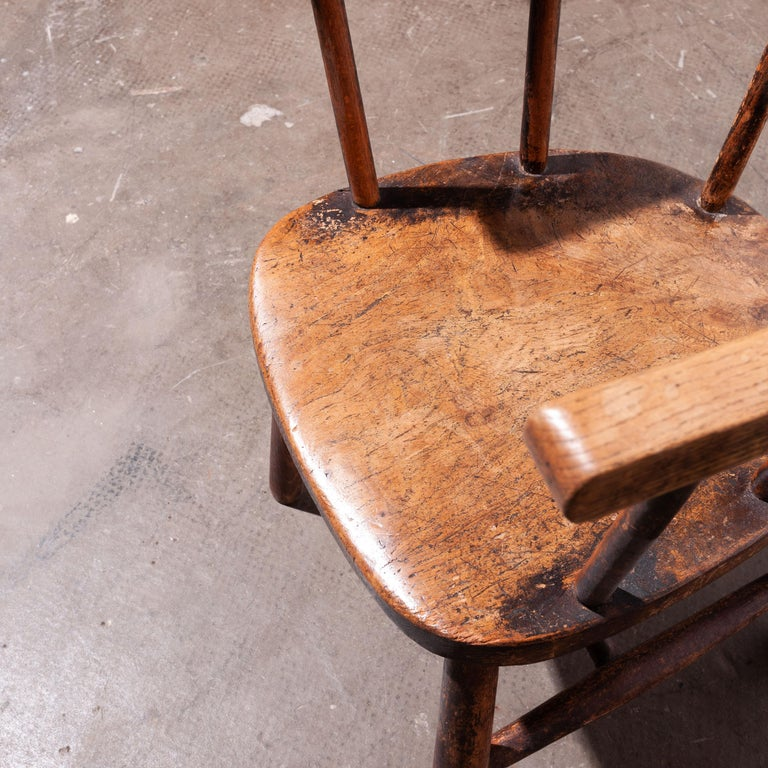 1890s Pair of Victorian Childs Chairs For Sale 2
