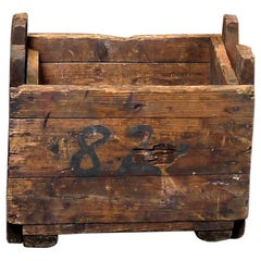 1890s Small Mill Decorative Box/Storage Box