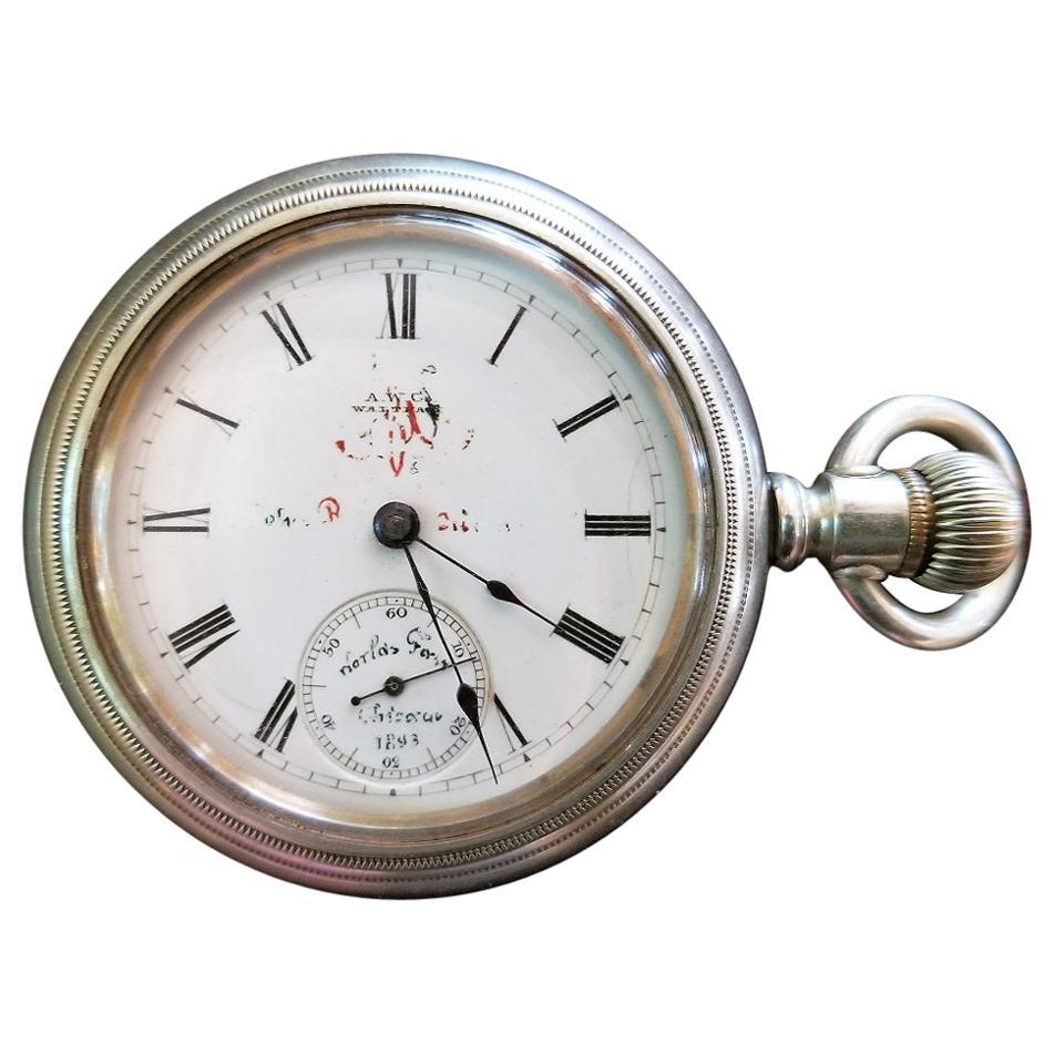 1893 Chicago World's Fair Waltham Pocket Watch