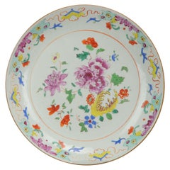 Chinese Porcelain Famille Rose Charger Southeast Asia Pre Bencharong