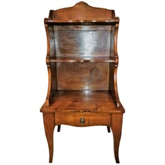 18 Century Country French Cherrywood Side Table or Open Case