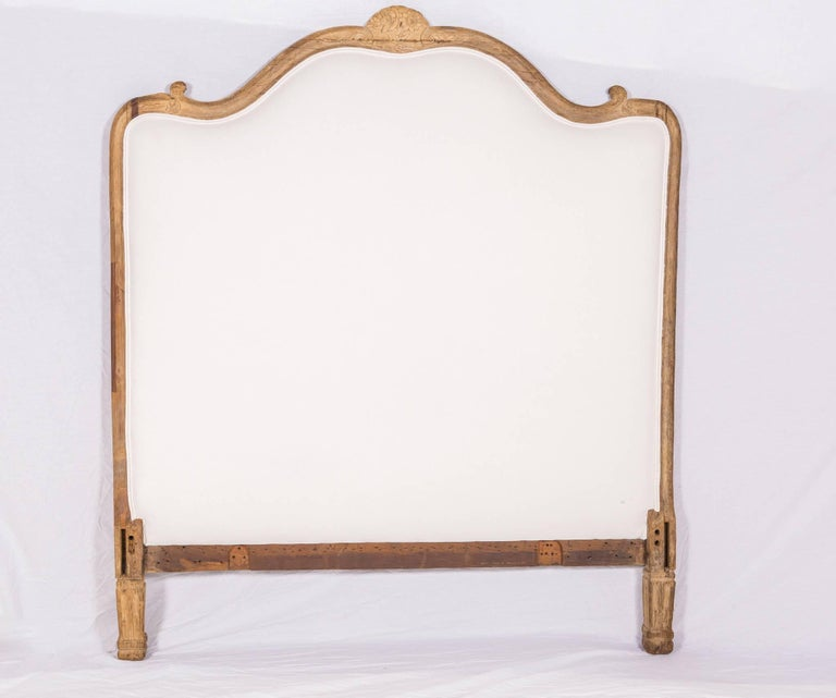 Antique French Louis XV Bed In Fair Condition For Sale In New Orleans, LA