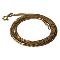 18ct 750 Gold Vintage Chain