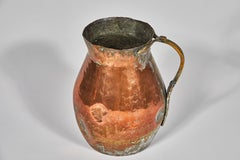 18h Century French Copper pot