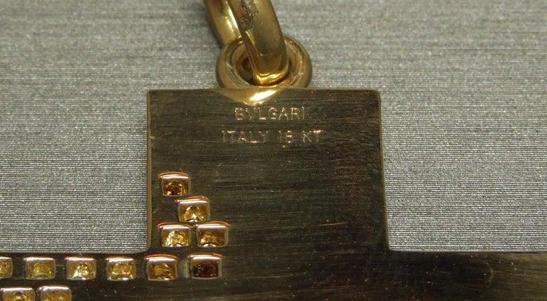 Women's or Men's 18 Karat Gold Bvlgari