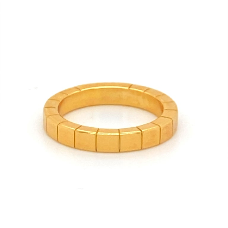 18K Gold Cartier Ring For Sale 1