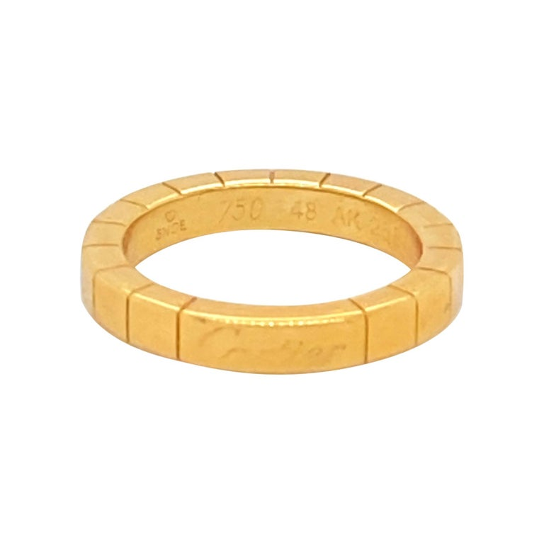 18K Gold Cartier Ring For Sale