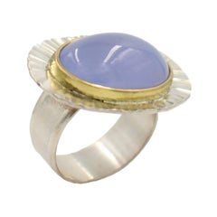 18k Gold Radiant Ring