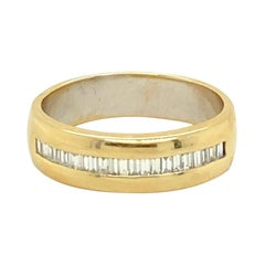 18k Gold Ring with 1 Carat of Diamonds