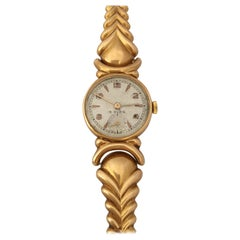 18cKarat Gold Vintage 1950s Ladies Swiss Mechanical Watch
