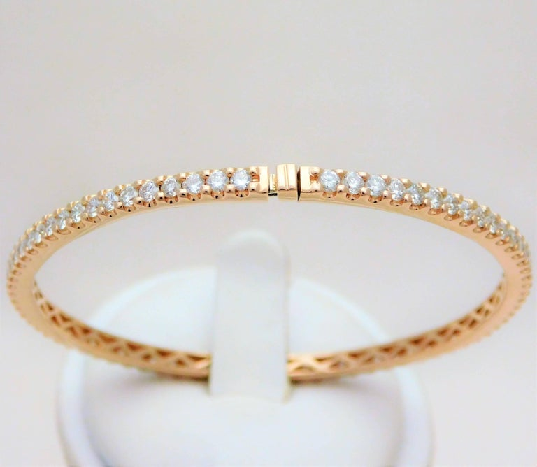 baguechamp eternity bangles diamond bangle champagne ring
