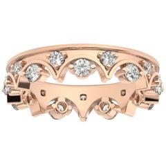 18K Rose Gold Caterina Eternity Diamond Ring '4/5 Ct. tw'