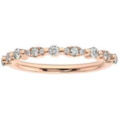 18K Rose Gold Dalia Diamond Ring '1/4 Ct. tw'
