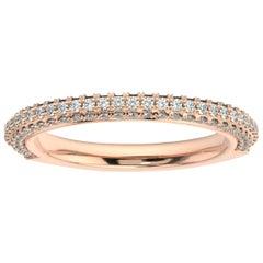 18k Rose Gold Louise Diamond Ring '1/2 Ct. tw'