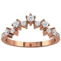 18k Rose Gold Margol Diamond Ring '2/5 Ct. Tw'