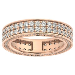18K Rose Gold Olivia Eternity Diamond Ring '2 Ct. Tw'