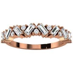 18k Rose Gold Sharvit Diamond Ring '1/3 Ct. Tw'