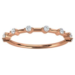 18k Rose Gold Sollaris Diamond Ring '1/7 Ct. Tw'