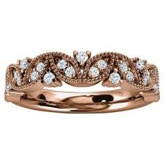 18k Rose Gold Vera Diamond Ring '1/5 Ct. tw'