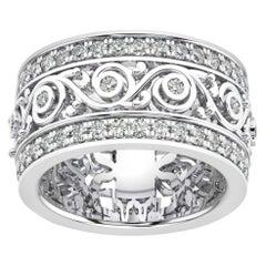 18k White Gold Charlotte Royal Diamond Ring '1 1/2 Ct. Tw'