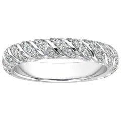 18K White Gold Constance Diamond Ring '2/5 Ct. tw'