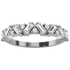 18k White Gold Sharvit Diamond Ring '1/3 Ct. Tw'