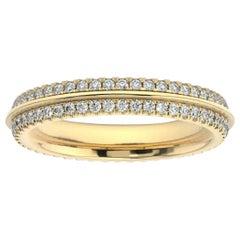 18K Yellow Gold Allier Diamond Eternity Ring '1/2 Ct. Tw'