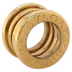 18k Yellow Gold Bulgari B.Zero1 Pendant