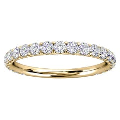 18k Yellow Gold Carole Micro-Prong Diamond Ring '1/2 Ct. tw'