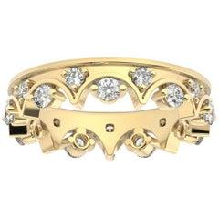 18K Yellow Gold Caterina Eternity Diamond Ring '4/5 Ct. tw'