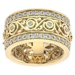 18k Yellow Gold Charlotte Royal Diamond Ring '1 1/2 Ct. tw'